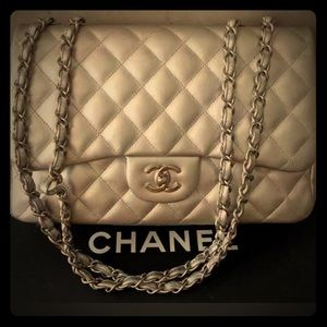 Chanel Jumbo Single Flap Hand Bag